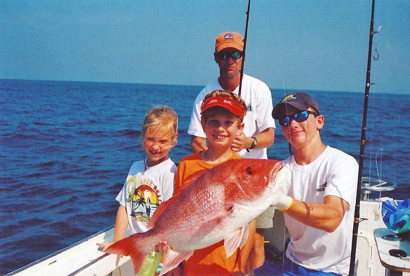 Family charter fishing alabama yankee star charter boat for Alabama fishing charters